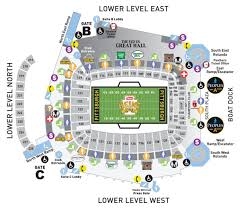 Heinz Field Virtual Seating Chart View The Heinz Field Seating Charts And Stadium Diagrams To