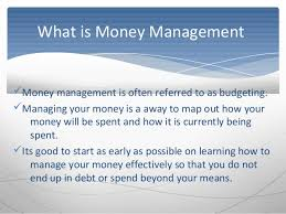 How To Best Manage Your Money