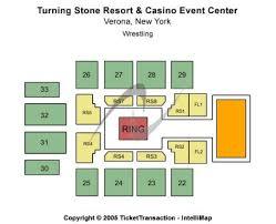 Turning Stone Casino Seating Chart Event Center At Turning Stone Resort Casino Tickets And