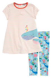 Mini Boden Jersey Dress Leggings Set Baby Girls Nordstrom Rack