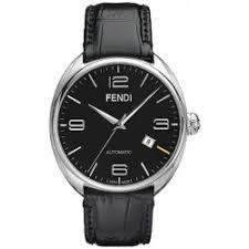 fendi fendimatic automatic steel silver mens watch f201016000 fendi fendimatic automatic leather black mens watch f200011011