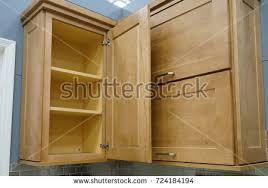 open cabinet door. Brilliant Open Wood Kitchen Cabinet With Door Open Intended Open Cabinet Door R