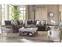 Traditional Sectional Sofas Living Room Furniture Craftmaster 753650 Traditional Sectional Sofa With Toss Pillows
