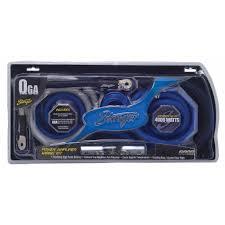 amplifier wiring kits stinger 1 0ga power wiring kit