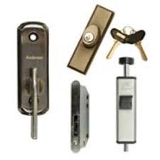 locks home patio door