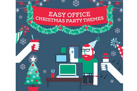 christmas office themes. (Illustration By Veronika V. Hipolito) Christmas Office Themes