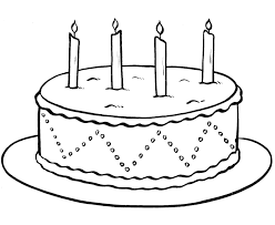 Birthday Cake Drawing Step By Step At Getdrawingscom Free For
