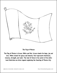 Small Picture Coloring Sheet Of Mexico FlagSheetPrintable Coloring Pages Free
