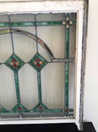 antique stain glass windows leaded stained window from bungalow san antonio