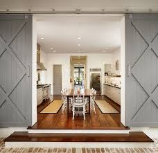 Barn Kitchen 25 Trendy Kitchens That Unleash The Allure Of Sliding Barn Doors