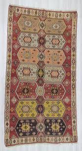 large turkish kilim rug 0235 handwoven vintage decorative one of a kind