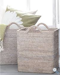 Pretty Laundry Baskets Custom Love The Idea Of A Basket For The Laundry Room That's Pretty Like