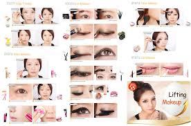 tips for round faces mugeek vidalondon lifting korean make up styles