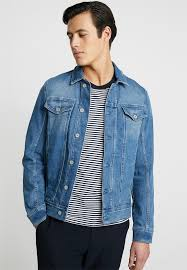 trucker jacket denim jacket bleached blue denim