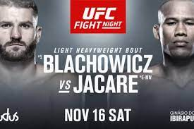 Latest UFC Fight Night 164 fight card ...