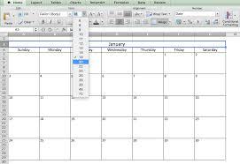 excel calandar make a 2019 calendar in excel includes free template
