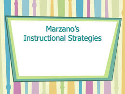 Ppt Marzanos Instructional Strategies Powerpoint