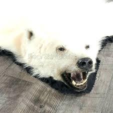 bear rug fake polar bear rug foot polar bear rug faux polar bear rug for fake polar bear skin rug with head