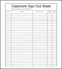 Sign In Sign Out Sheet Template Excel Excel Sign In Sign Out Sheet ...