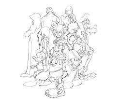 Small Picture kingdom hearts coloring pages Home Kingdom Hearts 10 Sora