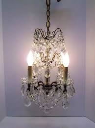 antique french crystal chandelier glass rosettes crystal strands petite french chandelier small french crystal chandelier dd