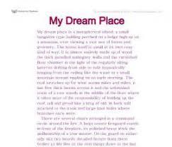 essay on my dream holiday short essay on my dream holiday