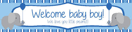 baby shower banners welcome home baby banners oyle kalakaari co