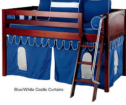 tent bunk bed with boys bunk
