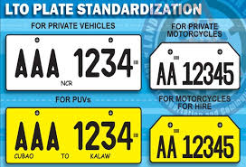 new car release phPhilippines LTO to release names of car dealers in licence plate
