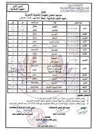 إليكم جدول امتحان الشهادة الثانوية الازهرية 2021 بمصر