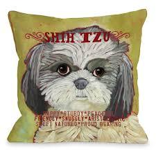 Shih Tzu Decorative Pillows