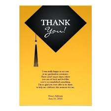 Graduation Thank You Note Graduation Card Thank You Notes Note Samples Doublebounce