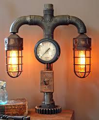 steampunk lighting. plain lighting steampunk desk lamp photo  3 and steampunk lighting