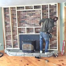 brick fireplace makeover stone veneer how should screen cover entire opening screens home depot smlf brick