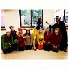 snow white and the seven dwarfs diy group costume