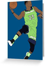 jimmy butler poster. Plain Poster Jimmy Butler Wolves By RatTrapTees Throughout Poster W