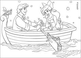 Small Picture Ariel and eric coloring pages Hellokidscom