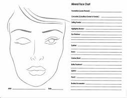 31 Up To Date Blank Face Chart To Print