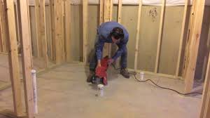 install toilet in basement. Shocking Finished Basement Full Bathroom Rough Plumbing Installation For Install Toilet In Style And Inspiration E