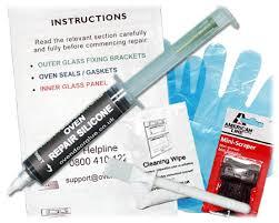 oven door glue kit high temperature adhesive