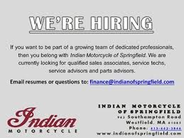 Indian Motorcycle of Springfield is located in Westfield  MA