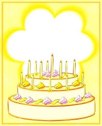 Birthday Candles Coloring Pages Birthday Card With Candles Coloring