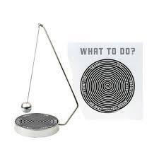new magnetic decision maker swinging pendulum game fate fun desk office toys