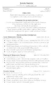 Executive Assistant Resume Templates Awesome Medical Assistant Objective Sample Kappalab