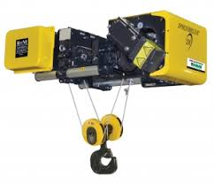 r m materials handling equipment wire rope hoists electric chain spacemaster wire rope hoists