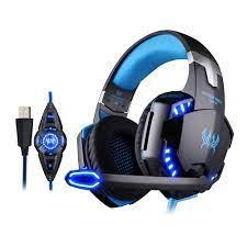 KOTION Her G2200 Oyun Kulaklık USB 7.1 Surround Stereo Kulaklık Titreşim  Sistemi Dönebilen Mikrofon Kulaklık Mic LED USB Kulaklık And Kulaklık -  Perfectstops.news