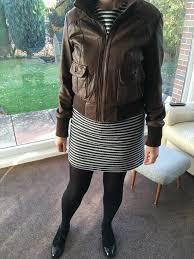 oasis quality leather jacket
