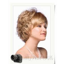 Us 1699 2016 Zeer Korte Kapsels Voor Oudere Vrouwen Synthetisch Krullend Haar Pruik Haarstukje Grijs Blonde Vrouw Pruik Peruque Afro Gratis