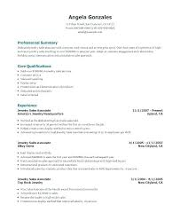 Objective Resume Sales Sales Associate Experience Examples Example Of Resume For Retail