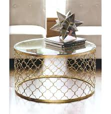 small round coffee table coffee table small round gold coffee table round shape steel with wold